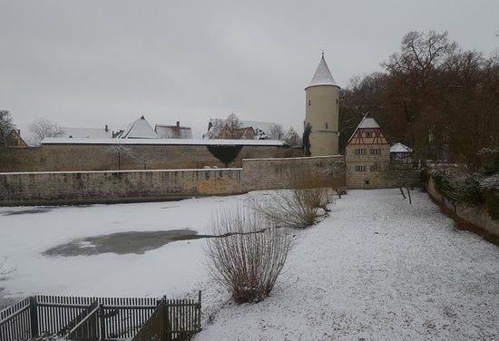 Dinkelsbühl, Tyskland: la torre