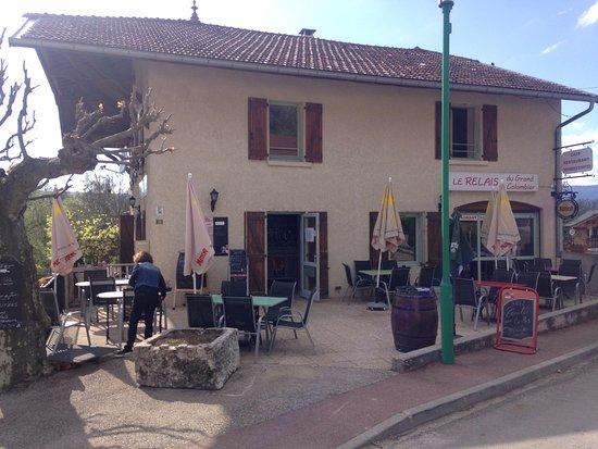 Belley, França: terrasse sympa