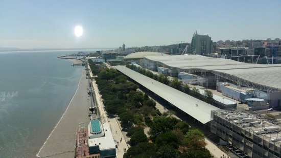 Myriad by SANA Hotels: View onto the Expo area