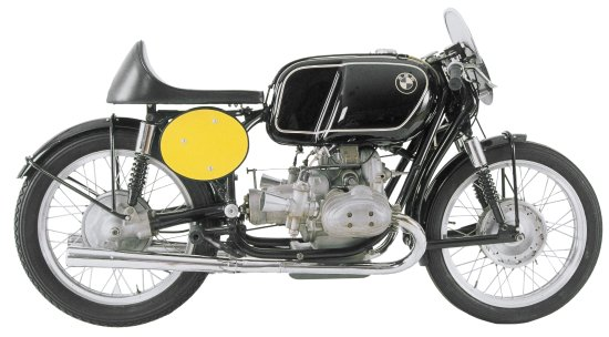 Solvang, Californien: 1954 BMW Rennsport - only 25 of these motorcycles were built