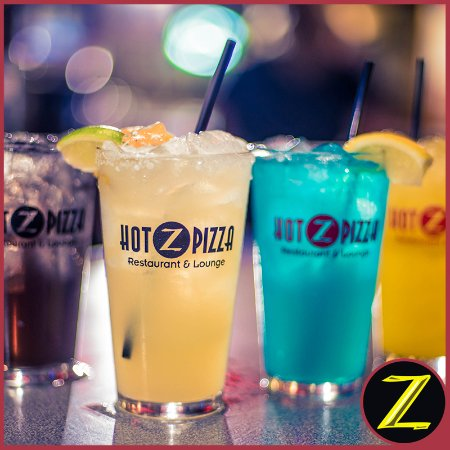 Landisville, PA: Mixed Drinks @ Hot Z Pizza