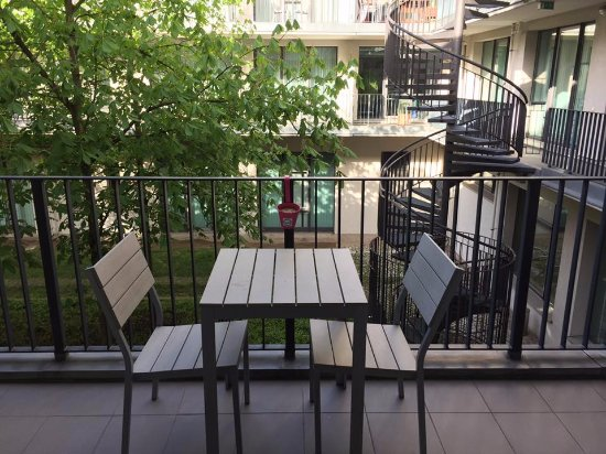 ApartHotel Residenz Am Deutschen Theater: Balkon