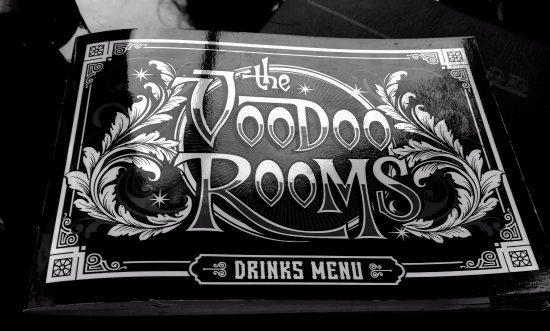 Voodoo Rooms Lunch Menu