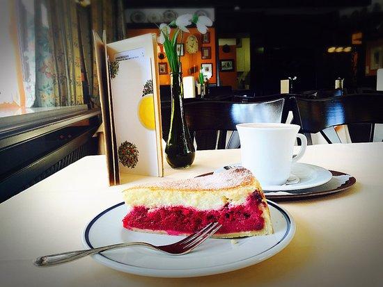 Schiltach, Germany: Tasty Raspberry cake ❤️