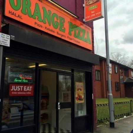 Orange Pizza Manchester 184 Rochdale Rd Restaurant