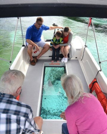 Florida Glass Bottom Boats