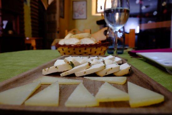 Tabla de quesos de Zuheros