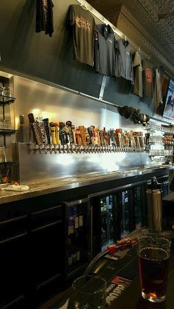 Cadillac, MI : View of the many taps!