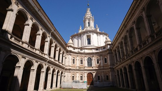 Chiesa di Sant'Ivo alla Sapienza, Rome - TripAdvisor Сант Иво Алла Сапиенца