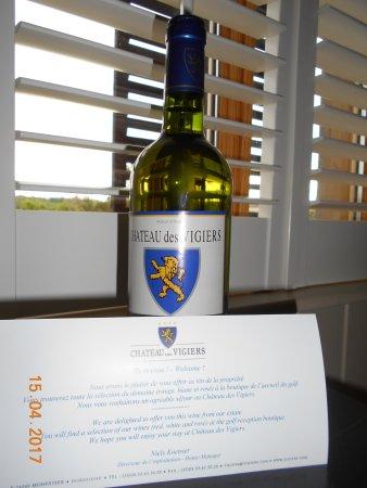 Monestier, ฝรั่งเศส: vin de la propriété