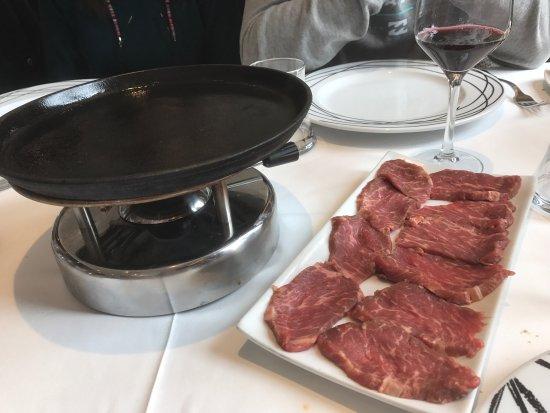 La Vid, Spain: Carne de Buey fileteada
