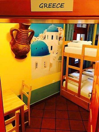 Europa Hostel Portoroz: Hostel Europa Portorose-- Greece room