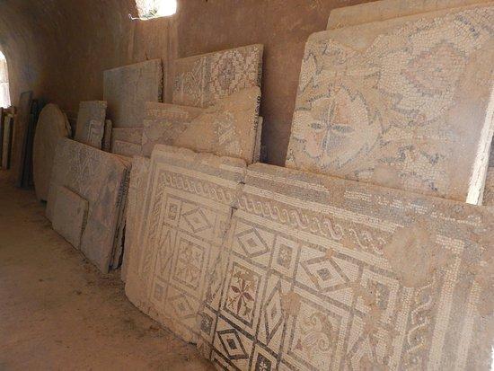 Carthage, Tunezja: Mosaic storage