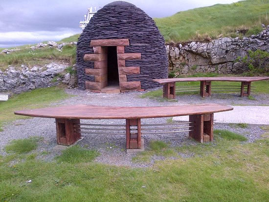 Fenit, ไอร์แลนด์: Heritage Park in honor of St Brandon