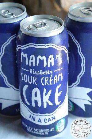 Corndance Tavern: Mama's Blueberry Sour Cream Cake... IN A CAN!