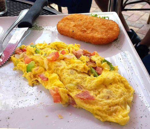 A Touch of Cuba Restaurant : Western Omelet
