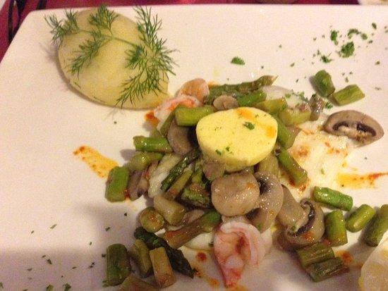 Bistro Paloma : John Dory main course