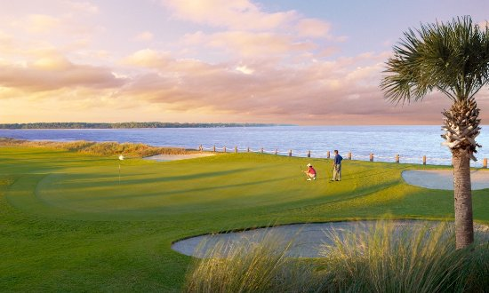 Fripp Island, SC: #18 at Ocean Point