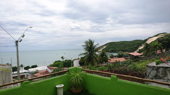 Bamboo Flat: Bela vista do morro do careca.