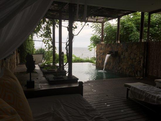 Shunyata Villas Bali: Blick aus der Delight-Villa