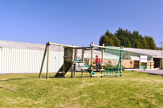 Polgooth, UK: Outdoor Play Area