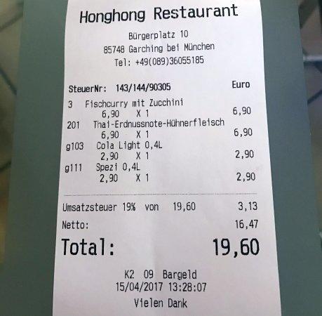 Garching bei Munchen, Germania: Diese Gerichte kosten mittags und abends das Gleiche und sind meiner Meinung nach super!
