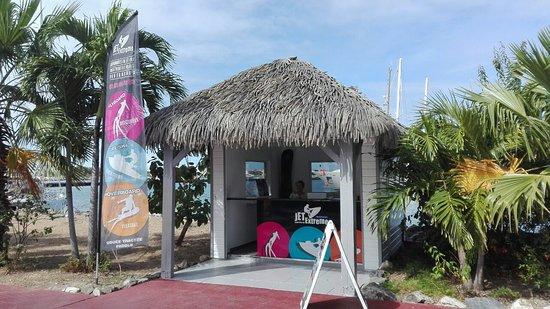 Baie Nettle, St Martin / St Maarten: Jet extreme marina fort louis