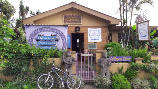 Store front... 200 meters south from the gas station in Nuevo Arenal