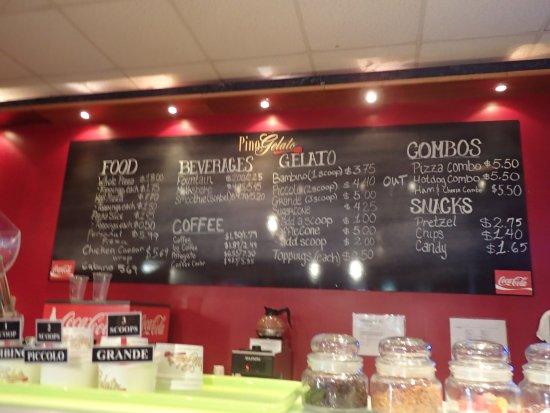 Pino Gelato Cafe At The Beach Fort Walton Beach Fl
