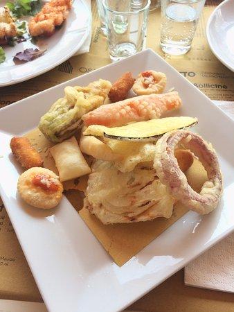 Sfizi Fritti Per Chi Non Ama Il Pesce Picture Of Osteria Del Gran