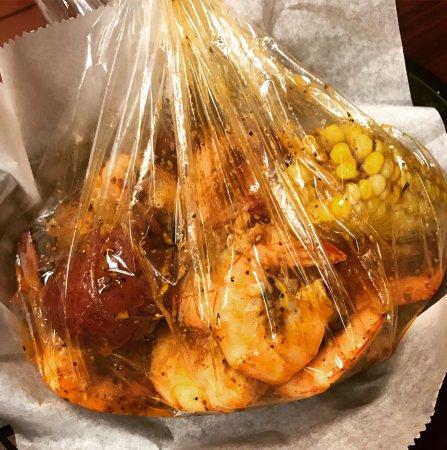 Hapeville, Джорджия: Shrimp Boil bag