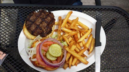 Waynesville, OH: Hamburger and Fries