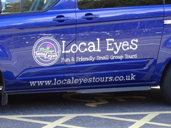 Local Eyes Tours: Chris's Van
