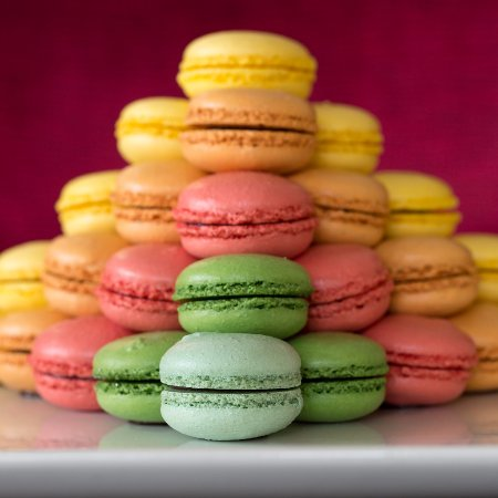 Wayne, Pensylwania: Macarons made by the Pastry Chef