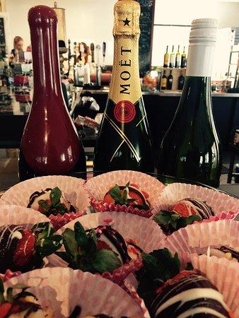 Dillsboro, NC: Great wine list and all kinds of sweet treats.