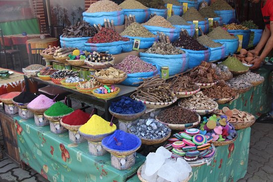Trilho Salama Day Tours: As cores de Marrakech
