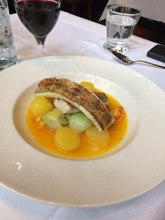 Safran Zunft: fish dish