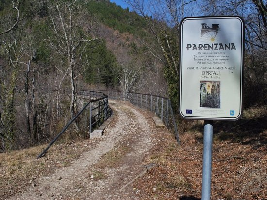 Buje, Croatia: the Parenzana!