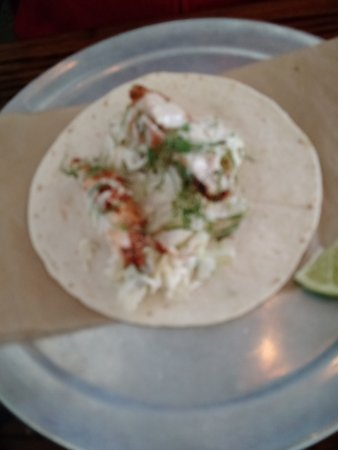 Travelers Rest, Carolina del Sur: Farmhouse Buttermilk Fried Chicken Taco