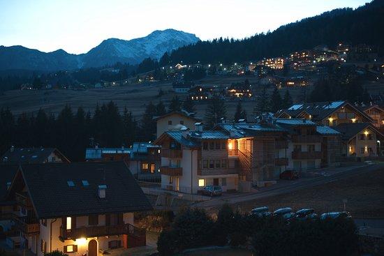 Piccolo Hotel : Blick nach Westen vom Balkon im 2 OG