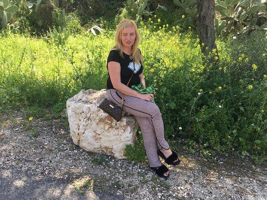 Zippori, Ισραήλ: Этому камню, может быть, несколько тысячелетий....
