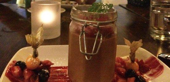 Aurora, Canadá: Lindt chocolate mousse