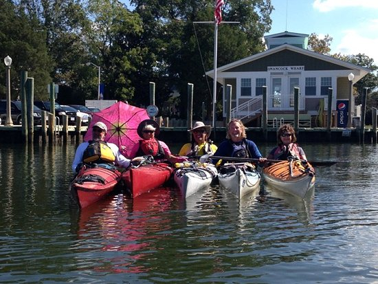 Onancock, VA: Group Kayak Expeditions