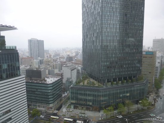 Nagoya Marriott Associa Hotel view from 15th floor