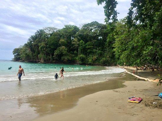 Punta Uva, Costa Rica: Sección cerca de la pared de roca