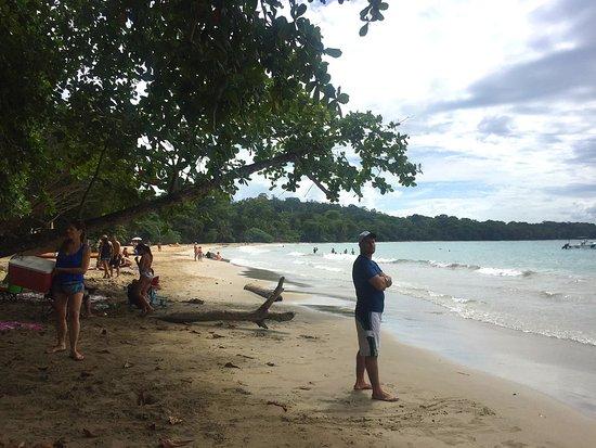 Punta Uva, Costa Rica: zona central de la playa