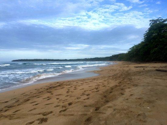 Punta Uva, Costa Rica: Una parte más alejada