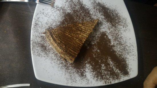 Garlenda, Italie : Chese cake al cioccolato
