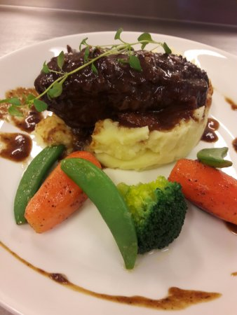 Risoyhamn, Norway: Braisert beef cheeks