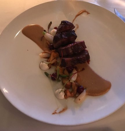 Aureole: Duck breast special